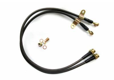 Agency Power - Nissan 350Z Agency Power Steel Braided Brake Lines - Rear - AP-Z33-410