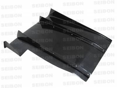 Seibon - Subaru Impreza Seibon Carbon Fiber Rear Diffuser - RD0607SBIMP