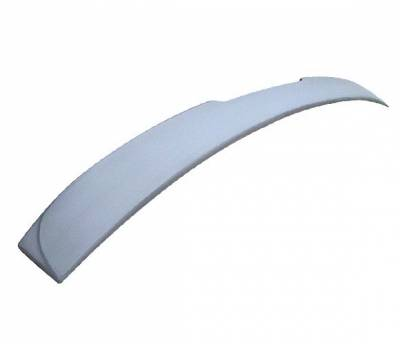 4 Car Option - BMW 5 Series 4 Car Option Fiberglass Roof Spoiler - ASR-BE60FRP