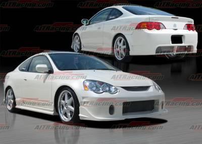 AIT Racing - Acura RSX AIT Racing BCN-2 Style Body Kit - AX01HIBCN2CK