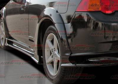 AIT Racing - Acura RSX AIT Racing VS Style Rear Fender Flares - AX01HIVS2RFL
