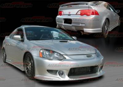 AIT Racing - Acura RSX AIT Racing CW Style Complete Body Kit - AX02HICWSCK