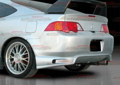 AIT Racing - Acura RSX AIT Racing ING Style Rear Bumper - AX02HIINGRB