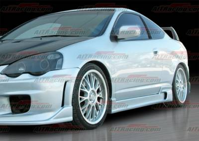 AIT Racing - Acura RSX AIT Racing ING Style Side Skirts - AX02HIINGSS