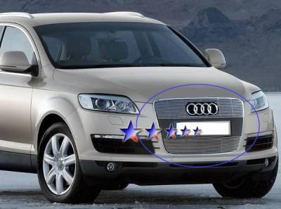 APS - Audi Q7 APS Billet Grille - Upper - Aluminum - B65527A