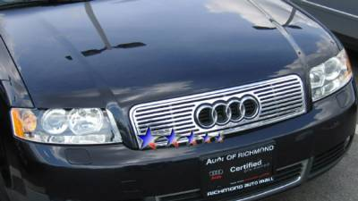 AutoDirectSave - 2002 2005 AUDI A4 CNC machined solid Billet grille B95500A