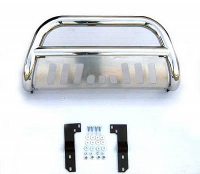 4 Car Option - Dodge Ram 4 Car Option Stainless Steel Bull Bar - BB-DG-0203