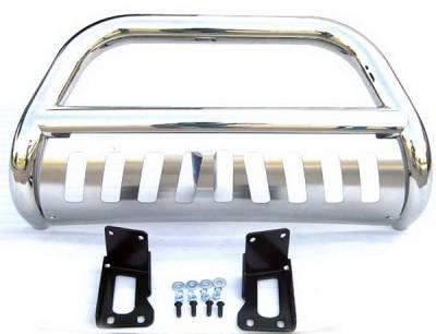 4 Car Option - Ford Superduty 4 Car Option Stainless Steel Bull Bar - BB-FD-0080