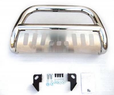 4 Car Option - Toyota Tundra 4 Car Option Stainless Steel Bull Bar - BB-TY-0183