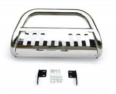 4 Car Option - Toyota Tundra 4 Car Option Stainless Steel Bull Bar - BB-TY-0216