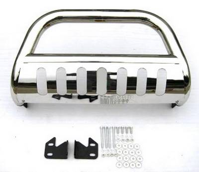 4 Car Option - Toyota FJ Cruiser 4 Car Option Stainless Steel Bull Bar - BB-TY-0441