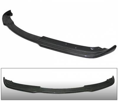 4 Car Option - BMW 3 Series 4 Car Option Carbon Fiber Hamann Style Front Bumper Lip - BLFC-BE90H