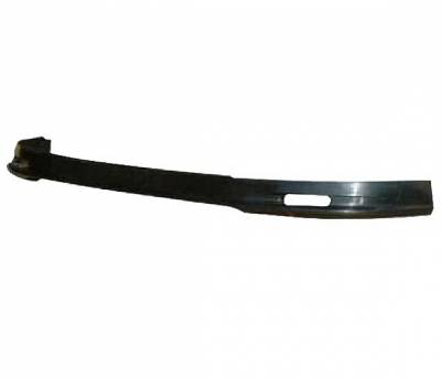 4 Car Option - Honda Civic 4 Car Option Polyurethane M Style Front Bumper Lip - BLF-HC99MU-PU