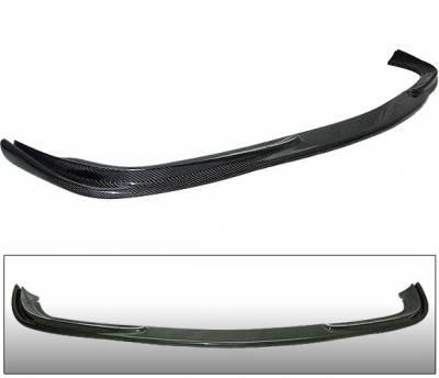 4 Car Option - Mercedes-Benz E Class 4 Car Option Carbon Fiber Front Bumper Lip - BLF-MBW211-CF