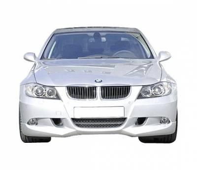 4 Car Option - BMW 3 Series 4DR 4 Car Option Polyurethane AC Style Front Bumper Lip - BLFP-BE90AC-PU