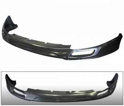 4 Car Option - Mitsubishi Eclipse 4 Car Option Polyurethane JP Style Front Bumper Lip - BLFP-ME95J-PU