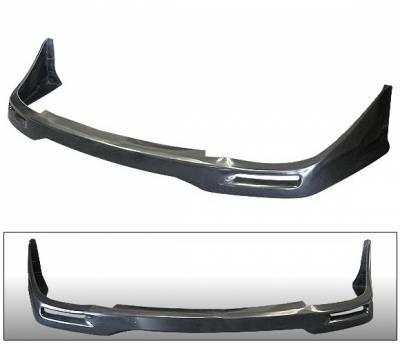 4 Car Option - Subaru WRX 4 Car Option Polyurethane STI Style Front Bumper Lip - BLFP-SI02STI-PU