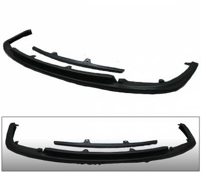 4 Car Option - Subaru WRX 4 Car Option Polyurethane CS1 Style Front Bumper Lip - BLFP-SI04CS1-PU