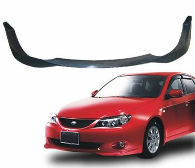 4 Car Option - Subaru Impreza 4 Car Option Polyurethane Front Bumper Lip - BLFP-SI08T-PU