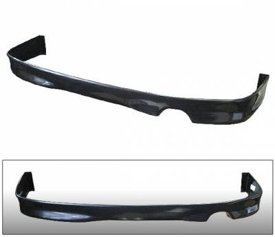 4 Car Option - Acura RSX 4 Car Option Polyurethane Rear Bumper Lip - BLR-ARX02