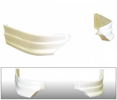 4 Car Option - Acura RSX 4 Car Option ABS Rear Bumper Lip - 2PC - BLR-ARX02-2
