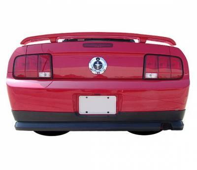 4 Car Option - Ford Mustang 4 Car Option Polyurethane Rear Bumper Lip - BLR-FM05V6-PU