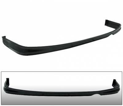 4 Car Option - Honda Civic 2DR & 4DR 4 Car Option Polyurethane T-R Style Rear Bumper Lip - BLR-HC96