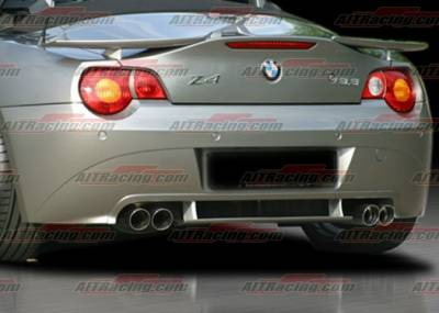 AIT Racing - BMW Z4 AIT Racing H-Tech Style Rear Apron - BM403HIHMNRS