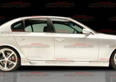 AIT Racing - BMW 5 Series AIT Racing A-Tech Style Side Skirts - BM505HIACSSS
