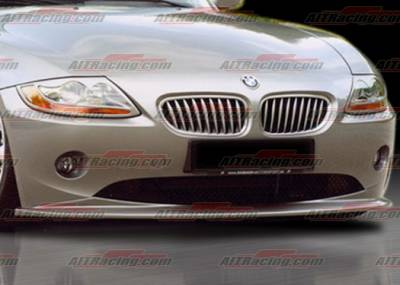 AIT Racing - BMW Z4 AIT Racing H-Tech Style Front Lip - BMWZ4HIHANFAD