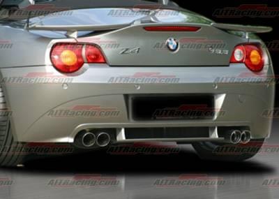 AIT Racing - BMW Z4 AIT Racing H-Tech Style Rear Apron - BMWZ4HIHANRAD
