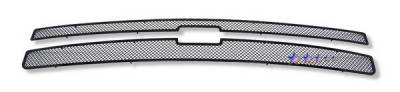 APS - Chevrolet Silverado APS Black Wire Mesh Grille - Upper - Stainless Steel - C75766H