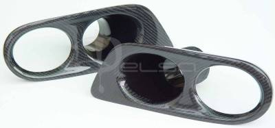 Custom - E46 M3 Carbon Fiber Fog Light Covers