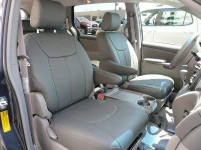 Clazzio - Toyota Sienna Clazzio Seat Covers