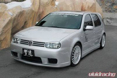 Chargespeed - Volkswagen Golf Chargespeed Spazio Nova Side Skirts - CS1975SSF