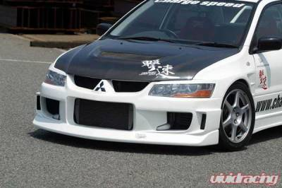 Chargespeed - Mitsubishi Lancer Chargespeed Type-1 Front Bumper - CS424FB
