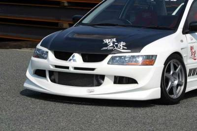 Chargespeed - Mitsubishi Lancer Chargespeed Front Spoiler - CS424FL