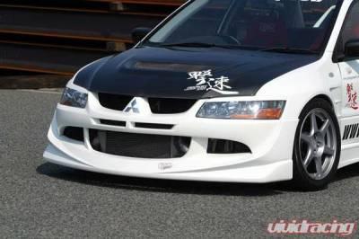 Chargespeed - Mitsubishi Lancer Chargespeed Full Lip Kit - 4PC - CS424FLK