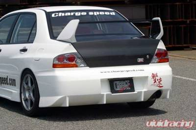 Chargespeed - Mitsubishi Lancer Chargespeed Rear Bumper - CS424RB