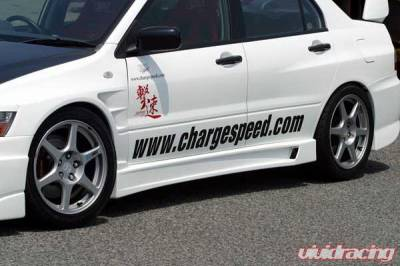 Chargespeed - Mitsubishi Lancer Chargespeed Side Skirts - Pair - CS424SS