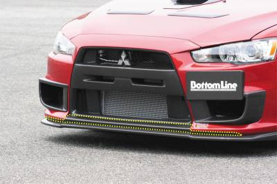 Chargespeed - Mitsubishi Lancer Chargespeed Front Air Dam Panel - CS427ADPC
