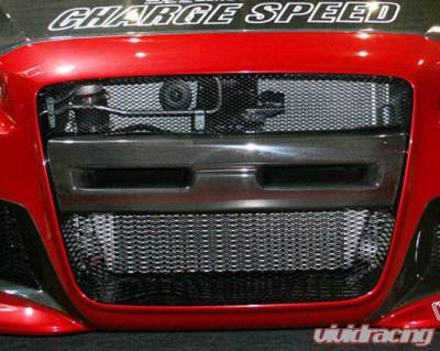 Chargespeed - Mitsubishi Lancer Chargespeed Front Bumper Center Garnish for Type-1 Bumper ONLY - CS427BCGCS