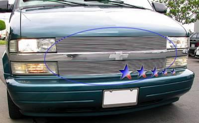 APS - Chevrolet Astro APS Billet Grille - Upper - Aluminum - C85104A
