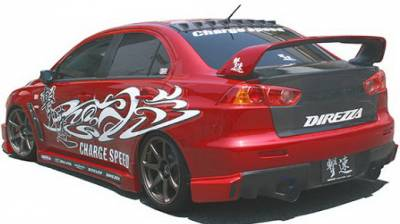 Chargespeed - Mitsubishi Lancer Chargespeed Type-1 Rear Caps - CS427RC1