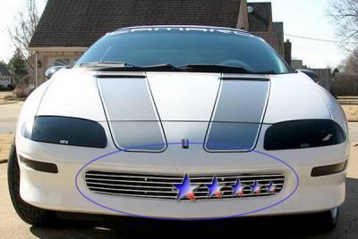 APS - Chevrolet Camaro APS Billet Grille - Upper - Stainless Steel - C86000S