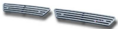 APS - Chevrolet Silverado APS CNC Grille - Bumper - Aluminum - C95302A