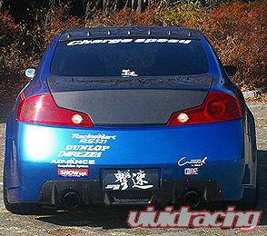 Chargespeed - Infiniti G35 2DR Chargespeed Rear Bumper - CS695RB