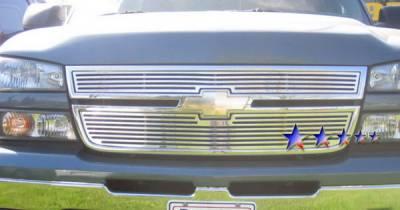 APS - Chevrolet Silverado APS CNC Grille - Upper - Aluminum - C95306A
