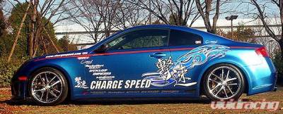Chargespeed - Infiniti G35 2DR Chargespeed Side Skirts - CS695SS