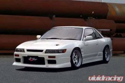 Chargespeed - Nissan 240SX Chargespeed Front End-Non Flip Light Coupe Full Body Kit - CS703FKC